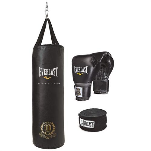 Everlast 100th Anniversary Heavy Bag Set